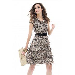 Kolorowa ładna sukienka